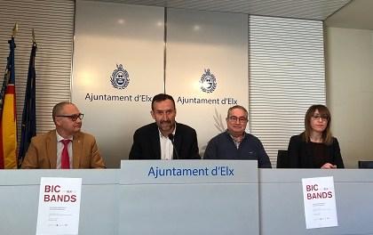 """Elche acogerá este sábado el concierto gratuito """"BIC Bands"""" con 300 músicos en homenaje a las bandas musicales de la Comunitat Valenciana"""