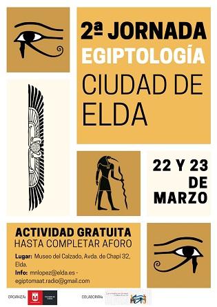 El Museu del Calçat acollirà la 2a Jornada de Egiptología Ciutat d'Elda