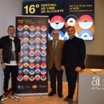 El Festival de Cine de Alicante ha presentado la imagen de la XVI edición del certamen con un innovador cartel de Antoni Pontí