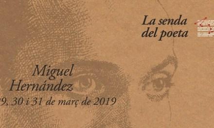 L'Associació d'Amics de Miguel Hernández ha sigut designada senderista d'honor 2019
