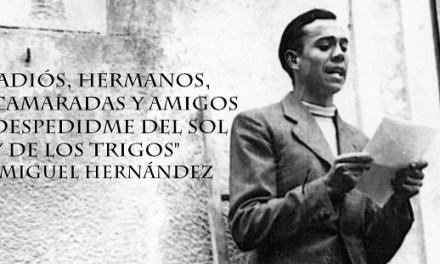 Aquest pròxim dilluns dia 25 es fallarà el Premi Internacional de Poesia Miguel Hernández