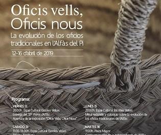 La VIII Setmana Cultural l'Alfàs amb Història analitzarà l'evolució dels oficis tradicionals