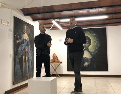 Reabre la sala de exposiciones de la Casa de Toni El Fuster, sede de la Fundación Schlotter, con la muestra de Israel Nicolás