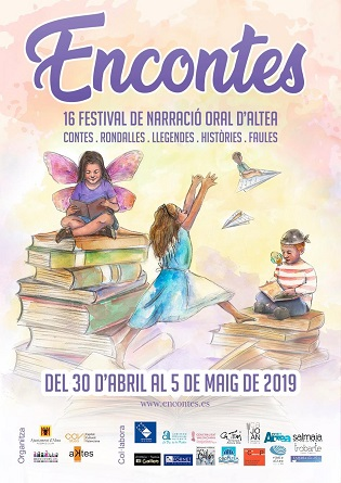 "Altea acoge el 16º Festival de Narración Oral ""Encontes"""