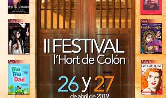 Comença el II Festival de Microteatro de Benidorm en l'Hort de Colón