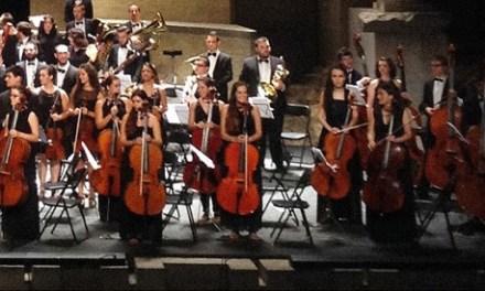 Concert de la Jove Orquestra de la Generalitat Valenciana al Palau d'Altea