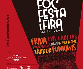 El 'FOC, FESTA I FIRA' vuelve a Santa Pola para llenar la Glorieta de música, espectáculos y actividades
