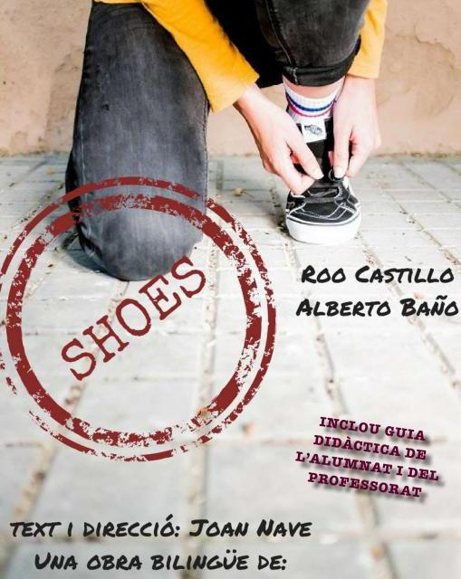 Esclafit Teatre representa la obra bilingüe «Shoes» en el Paraninfo de la UA