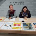 Libros y literatura inundan abril en Villena