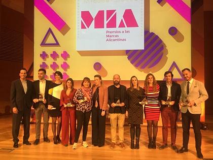 Vinos Alicante DOP recibe el premio MIA a la estrategia de marca