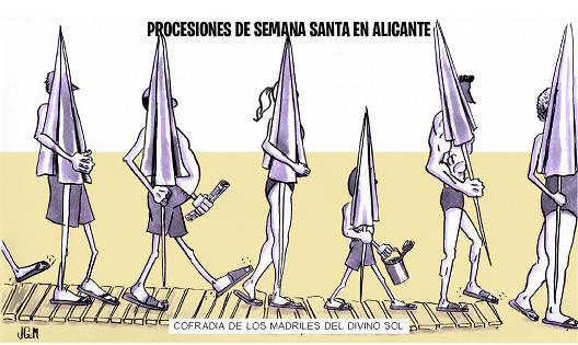 JAVIER GARCÍA-CONDE MAESTRE VIÑETA #19 LOBLANC