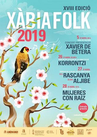 Xavier de Bétera inaugura aquest divendres la XVIII edició del Xàbia Folk