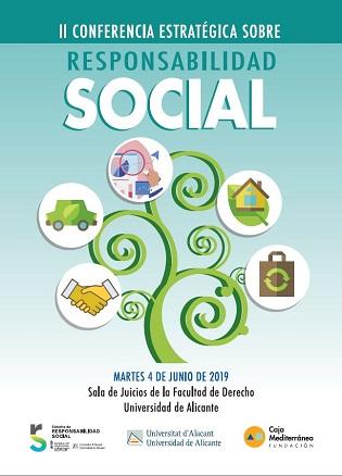 La Universitat d'Alacant acull la II Conferència Estratègica sobre Responsabilitat Social