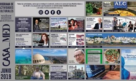 Casa Mediterráneo pone el foco en la literatura de los países ribereños durante su programación de junio