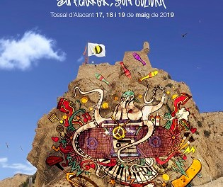 Empieza hoy la 7º edición de ALACANT DESPERTA en el Parque del Tossal bajo el lema  #SOMCARRER #SOMCULTURA