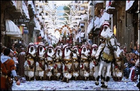 Todo a punto para las Fiestas de Moros y Cristianos de Alcoy