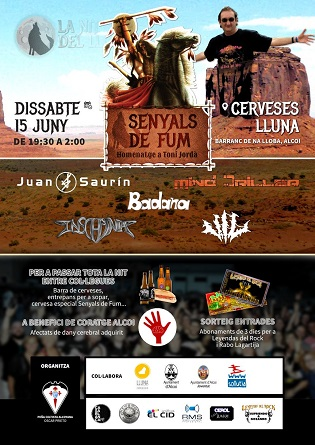 Una nova edició del concert 'SenyalsdeFum'de sons metall a Alcoi