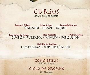 El festival de música antigua Musicaloxa regresará a Callosa d'en Sarrià del 23 al 30 de agosto