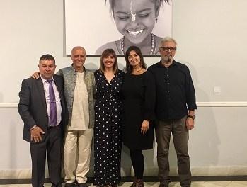 La Diputación de Alicante muestra en la exposición EDU&WOMEN la realidad de las niñas en la India y la labor de las organizaciones para favorecer su educación
