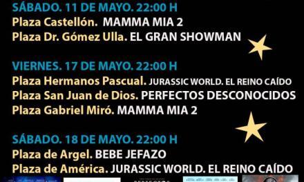 Nuevo ciclo de cine en la calle con sesiones en plazas de la zona EDUSI del Festival de Cine de Alicante