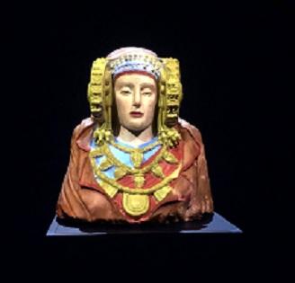 La Dama ja es pot veure en elMAHEd'Elx amb la seua policromia original