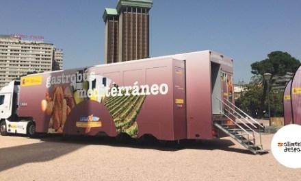 El 'Gastrobús Mediterráneo' llega el lunes a Elda para dar a conocer los beneficios de la dieta mediterránea