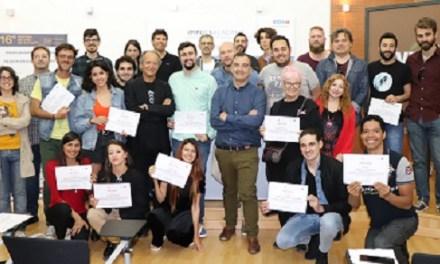 El Ayuntamiento de Alicante clausura el primer Laboratorio de Presentación de Propuestas y Proyectos de Ficción en el Centro de Emprendedores