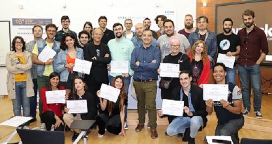 L'Ajuntament d'Alacant clausura el primer Laboratori de Presentació de Propostes i Projectes de Ficció en el Centre d'Emprenedors