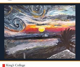 Estudiantes de secundaria de King's College Alicante exhiben sus obras en el Centro Municipal de las Artes