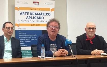 Jim Hooper, actor de la Royal Shakespeare Company, nou professor del Màster en Interpretació d'Art Dramàtic de la UA