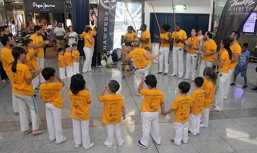 El ritmo de Brasil llega a l'Aljub con una exhibición de Capoeira y una batucada