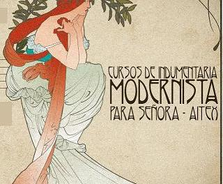 AITEX organitza cursos d'indumentària modernista a Alcoi