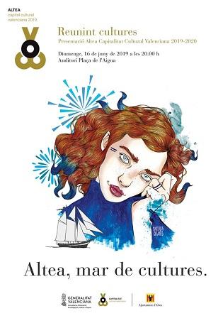 València acull hui la presentació d'Altea com a Capital Cultural Valenciana 2019-2020