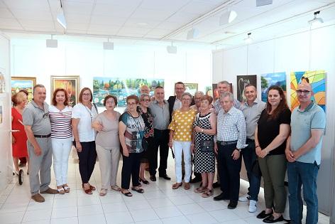 Exposición fin de curso en la Casa del Fester de La Barqueta y la Escuela de Dibujo de la Tercera Edad