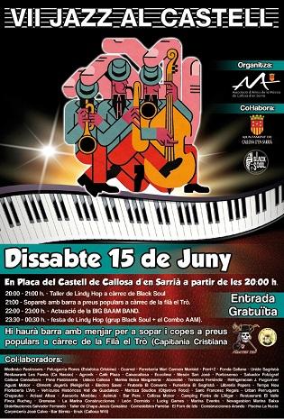 El próximo 15 de junio vuelven los conciertos de Jazz al Castell a Callosa d'en Sarrià