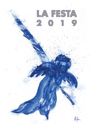 Cartel Misteri 2019, obra de la artista Maria Dolores Mulá