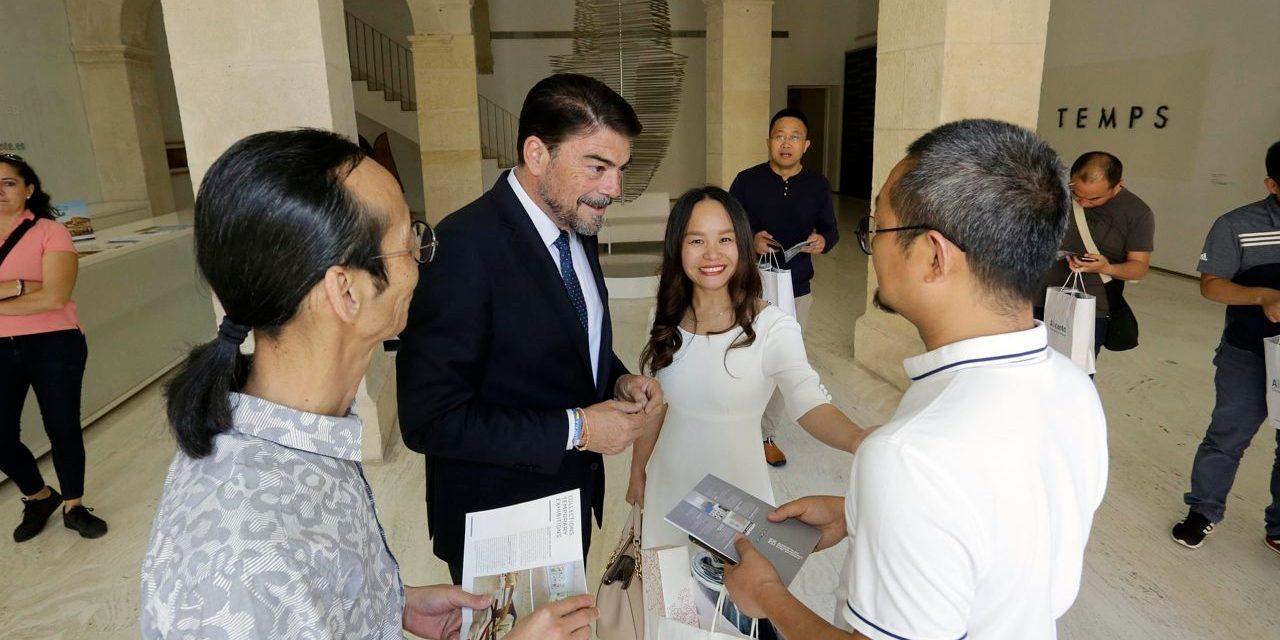 Alicante recibe a una delegación del Instituto Tecnológico de Arte y Cultura de la ciudad china de Suzhou