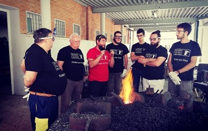 El Ayuntamiento de Alcoy realiza el primer curso de formación básica en forja