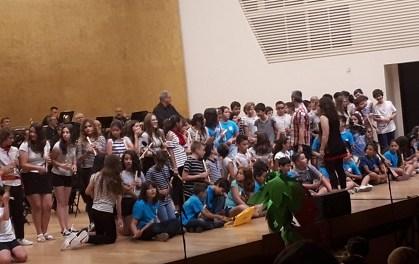 La Banda Sinfónica de Alicante finaliza el ciclo de conciertos escolares ante un millar de participantes