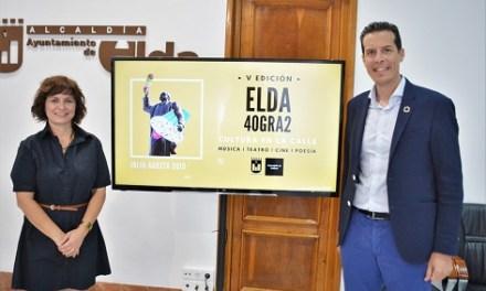 L'activitat cultural torna als carrers d'Elda amb la V Edició d'Elda 40gra2