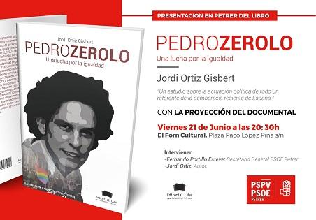 Un libro sobre el socialista Pedro Zerolo para construir una sociedad libre, igual y diversa