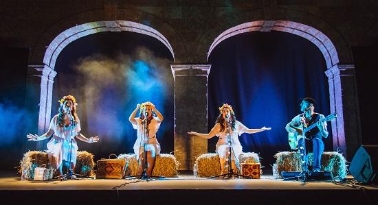 """Las gallegas """"DE VACAS"""", ofrecerá su concierto  en la Plaza del Teatro Chapí en Villena"""
