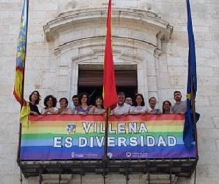 Villena LGTBI. Villena es Diversidad