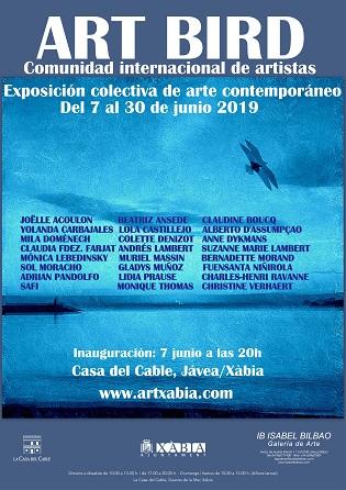 Exposición Internacional de arte: ART BIRD en la Casa del Cable de Jávea