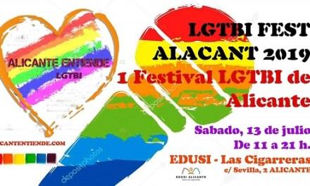 El Orgullo LGTBI alicantino estrena Festival LGTBI en Las Cigarreras
