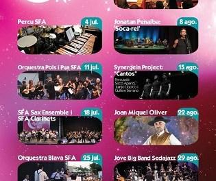 """Jazz, canto de estilo, cantautores y música contemporánea protagonizan """"Música a Boqueta Nit"""" en el mes de agosto en Altea"""