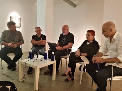"""En Aural Galeria l'exposició """"Territoris de lo textual, Contextos invisibles"""": paraula com a imatge, paraula com a idea"""