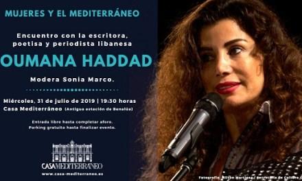 Debat sobre la dona àrab amb Joumana Haddad a casa Mediterrani
