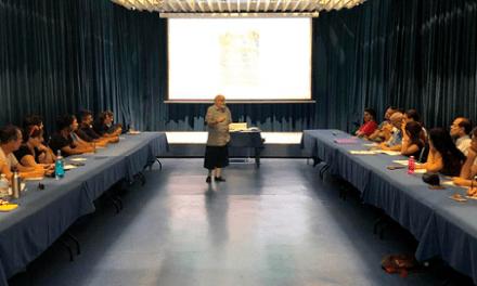 38 alumnes inauguren el taller de dramatúrgia 'Mediterrani: un mar d'aventures', organitzat per Casa Mediterráneo