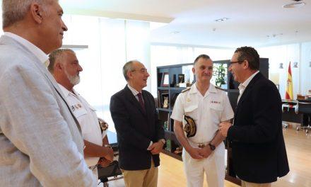 L'Armada Espanyola i l'Ajuntament de Benidorm s'impliquen en l'organització de la segona edició del premi d'investigació naval de la Fundació Frax
